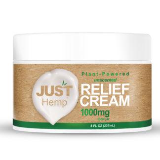 relief cream justhemp 1000mg